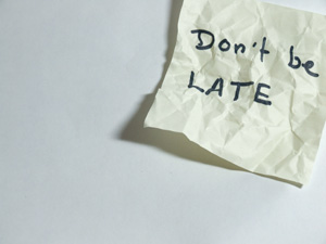 dont-be-late-notice
