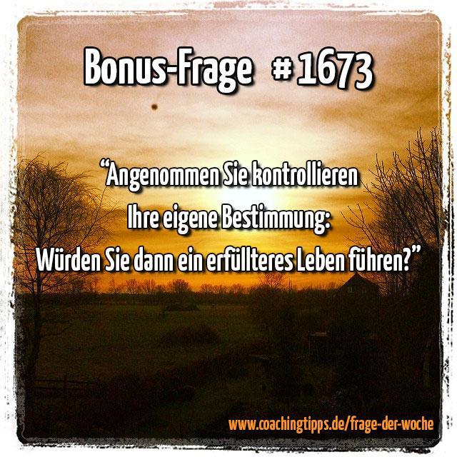 Bonus-Frage #1673